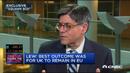 美国财长:英国退欧不会引发金融危机