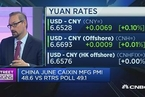 分析人士:预计人民币贬值将提升中国经济表现