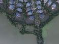 航拍|武汉超级豪宅被淹 传黄晓明刘亦菲置居