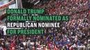 特朗普正式获得共和党总统候选人提名