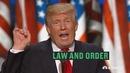 """特朗普发表提名演讲 反复强调""""法律与秩序"""""""