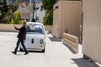 谷歌无人驾驶汽车目击的怪人