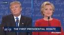 【美国大选辩论】特朗普:我脾气比希拉里好多了