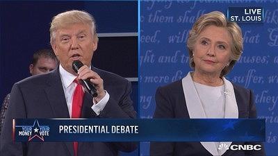 【美国大选辩论第二场】希拉里特朗普谈对方优点