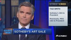 苏富比CEO:明年将有更多收藏品供拍卖