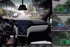 特斯拉的Model S无人驾驶演示