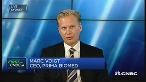 澳洲药企Prima Biomed CEO:与中国药企合作是考虑多年的决定