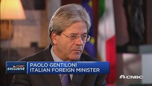 意大利外长:即使公投失败也不会成为欧元区的威胁