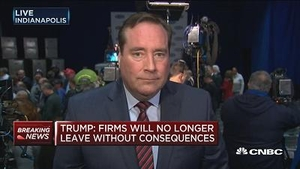 特朗普再发警告:公司若离开美国将承担后果