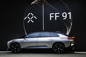法拉第发布首款量产电动汽车