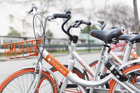 摩拜自行车结构
