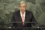 联合国新秘书长的任期第一天是怎么开始的