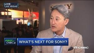 索尼CEO:将继续为手机及数码相机提供传感器