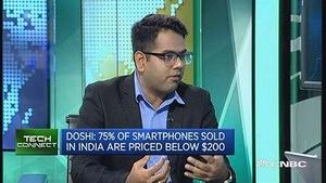 分析人士:印度中低端手机市场潜力大