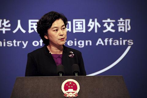 外交部:中美贸易状态完全是由市场形成的