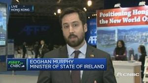 爱尔兰金融部长:爱尔兰可以成为英国脱欧后的金融服务替代国