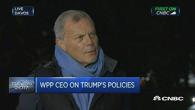 WPP集团CEO:英国不退欧对企业才是最适合的