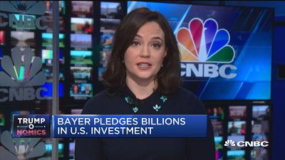 拜耳承诺在美国投资80亿美元 用于研发