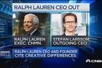 拉尔夫•劳伦CEO将辞职 股价重挫12%