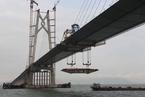 港珠澳大桥有望今年底完工