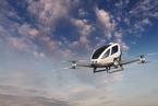 中国制造无人驾驶飞机替代迪拜出租车