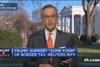 """特朗普:支持""""某种形式""""的边境税"""