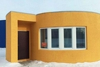 3D打印24小时建成一幢房子