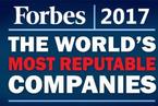 福布斯全球最具声望公司榜单:三星跌至70名