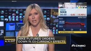 耐克第三财季营收不及预期 股价下跌近4%