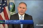 """美国环保局局长:废除奥巴马气候政策是结束""""对煤炭的战争"""""""