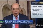 美商务部长:我们对NAFTA的想法并未改变
