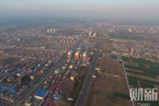 空中鸟瞰雄安新区 华北三县揭开面纱