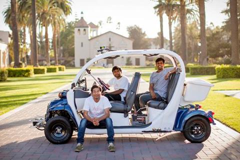 """在硅谷诞生 敢与科技巨头""""叫板""""无人驾驶"""