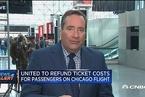 美联航最新表态:将为涉事航班所有乘客退票