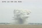 """美军""""炸弹之母""""爆炸瞬间  威力半径可达1英里"""