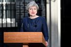 英国首相特雷莎·梅寻求提前大选 英镑大涨欧股急跌