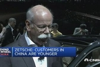 戴姆勒CEO:奔驰在中国销量大幅增长