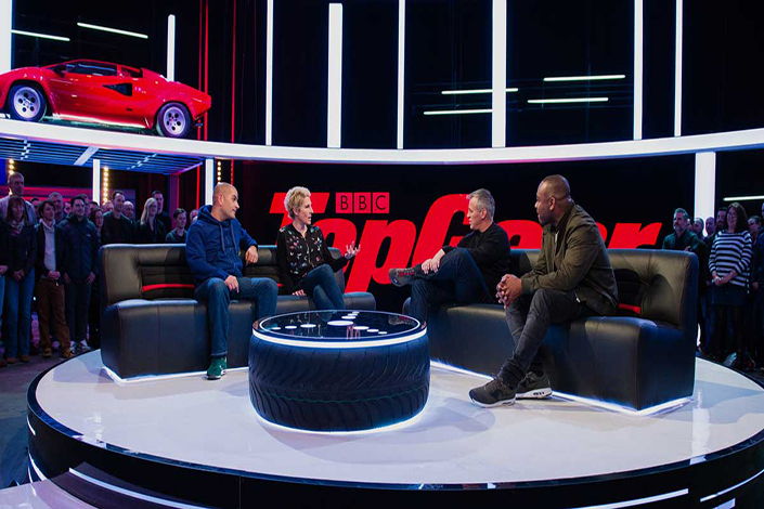 Shanghai Media Group will collaborate with the commercial arm of the BBC in the launch of China's first TV channel for car enthusiasts, which will include