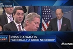 美商务部长:不认为将与加拿大爆发贸易战