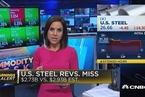 美国钢铁一季度出现亏损 盘后股价跌逾15%
