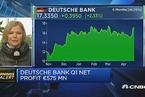 德银一季度净利润达5.75亿欧元 仍需削减成本