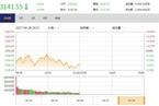 今日午盘:消费股回调领跌 沪指震荡下跌0.34%