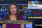 星巴克第二财季营收不及预期 股价盘后下跌逾4%