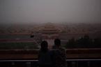 延时下的今春北京最强沙尘
