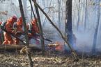 春季北方频发火灾 大兴安岭特大森林火灾明火扑灭