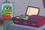"""饱受种族主义困扰 """"佩佩蛙""""迎来葬礼"""