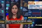 21世纪福克斯一季度营收不及预期