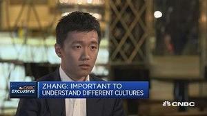 苏宁张康阳:企业走向全球化 文化沟通很重要