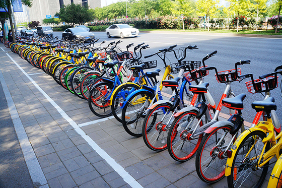 China To Roll Out Tougher Rules On Bike Sharing Deposits