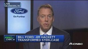 福特执行董事长:CEO菲尔兹离职是董事会的决定